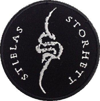 STIELAS STORHETT - Symbol Нашивка Black Metal