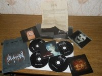 UDUMBAL - From beyond MXMVIII-MMVIII 4CD-Leather-BOX Left Hand Path Art