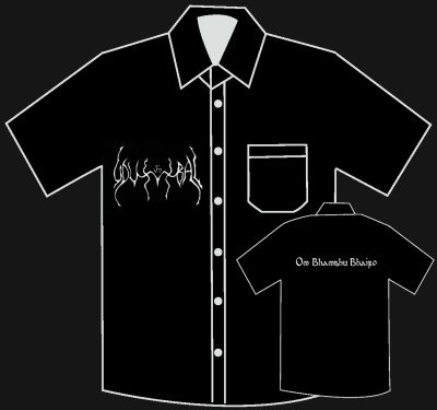 UDUMBAL - Military Shirt - XL Рубашка Left Hand Path Art