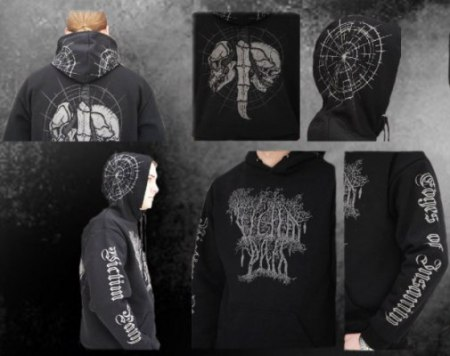 VICTIM PATH - Edges of Insanity hooded sweat-shirt - M Балахон Depressive dark metal