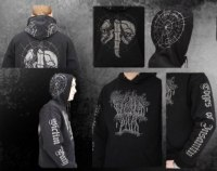 VICTIM PATH - Edges of Insanity hooded sweat-shirt - M Балахон Depressive dark metal
