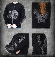 VICTIM PATH - Edges of Insanity longsleeve - M Кофта Depressive Dark Metal