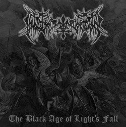 WARFORGED - The Black Age of Light's Fall CD Raw Black Metal