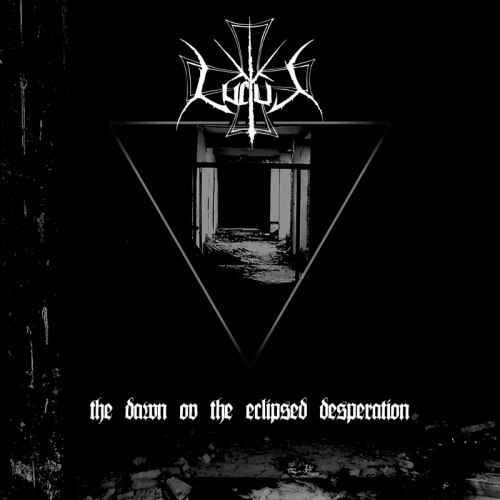 LUCTUS - The Dawn ov the Eclipsed Desperation CD Blackened Metal