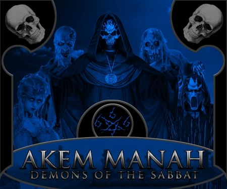 AKEM MANAH - Demons of the Sabbat Digi-CD Necro Doom Metal