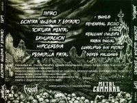 DEKAPITED - Contra Iglesia Y Estado CD Thrash Metal
