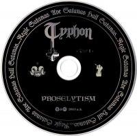 TYPHON - Unholy Trilogy + Demo Giant Digipak Black Metal