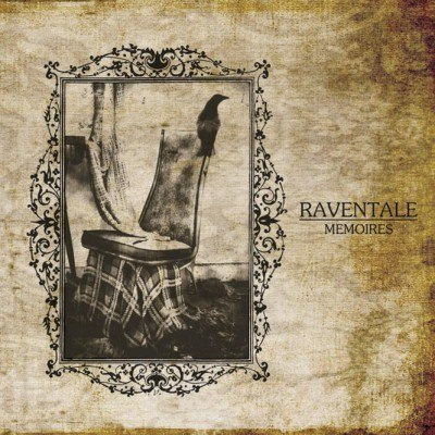 RAVENTALE - Mémoires CD Blackened Atmospheric Metal