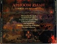 APHOOM ZHAH - Symbol of new aeon CD Satanic Thrashing Black Metal