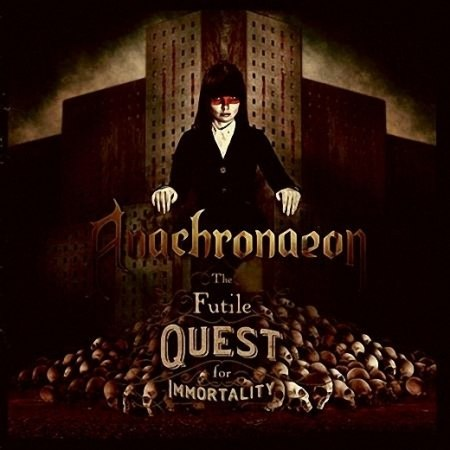 ANACHRONAEON - The Futile Quest for Immortality CD Melodic Dark Metal