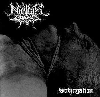 NUKLEAR FROST - Subjugation Splatter LP Black Metal