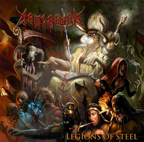 ARMS OF WAR - Legions Of Steel Digi-CD Thrash Heavy Death Metal