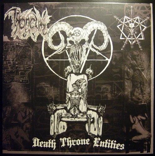 THRONEUM - Death Throne Entities LP Death Metal