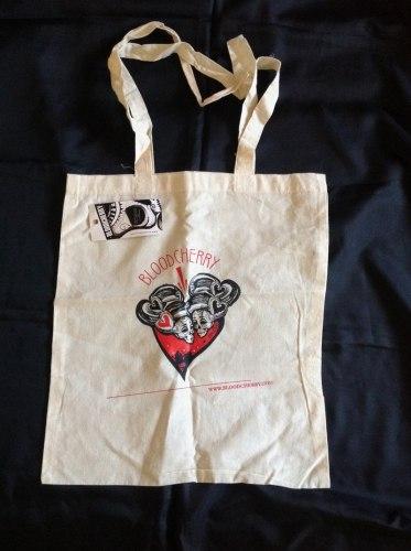 BLOODCHERRY - Heart bag сумка