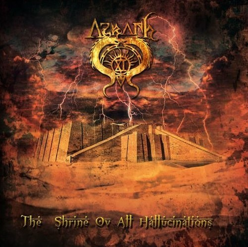 AZRATH-11 - The Shrine Ov All Hallucinations CD Death/Black Metal