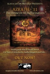 AZRATH-11 - The Shrine Ov All Hallucinations CD Death/Black Metal