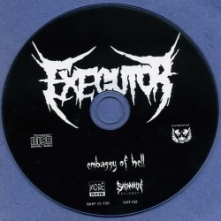EXEGUTOR - Embasy of Hell CD Grindcore