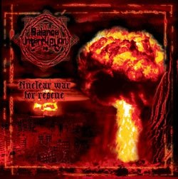BALANCE INTERRUPTION - Nuclear war for rescue CD Black Metal