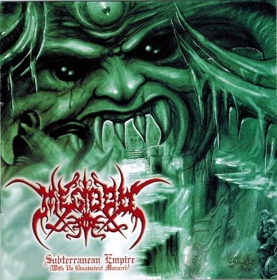 MEGIDDO - Subterranean Empire (With Us Omniscient Monarch) CD Black Metal