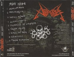 ALCOHOLOKAUST - Satan Inside CD Thrash Metal