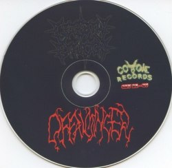 CEREBRAL EFFUSION / OFFALMINCER - Immortal Cemetery / Disemboweling of Intestines CD Brutal Death Metal
