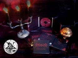 ADUSTUM - Searing Fires and Lucid Visions Digi-CD Black Metal