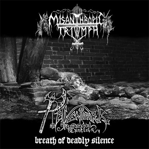 MISANTHROPIC TRIUMPH / RAVENDARK'S MONARCHAL CANTICLE - Breath Of Deadly Silence CD Black Metal
