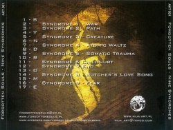 FORGOTTEN SOULS - Nine Syndromes CD Doom Death Metal