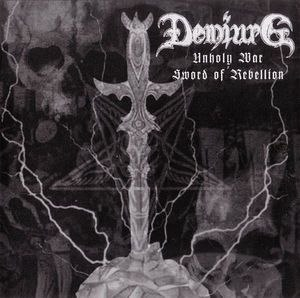DEMIURG - Unholy War - Sword Of Rebellion CD Black Metal