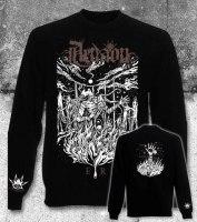 AENAON - Er Longsleeve - L Кофта Progressive Black Metal