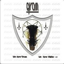 GROM - We Are True, We Are Hate CD Black Metal