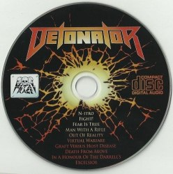 DETONATOR - Excelsior CD Thrash Metal