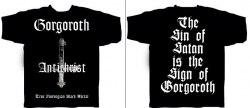 GORGOROTH - Antichrist - M майка