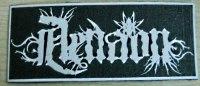 AENAON - Logo Patch Нашивка Avant-garde Black Metal