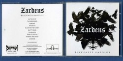 ZARDENS - Blackness Unfolds CD Blackened Metal