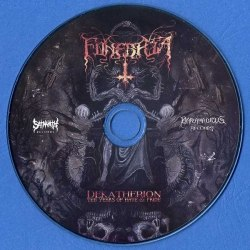 FUNEBRIA - Dekatherion: Ten Years of Hate & Pride CD Black Death Metal