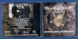 SKULLTHRONE - Biomechanical Messiah CD Blackened Death Metal