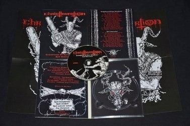 CHRISTINVERTION - Embodiment Of Goat Blasphemy / Hail Desecration Digi-CD Goat Metal