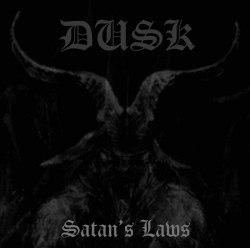 DUSK - Satan's Laws CD Cult Satanist Metal