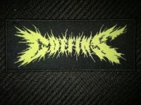 COFFINS - Logo Patch Нашивка Death Metal