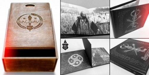 PRAGNAVIT - Skarby Zmiainaha Karala Wooden Box Digi-Box Dark Ritual Folk Ambient