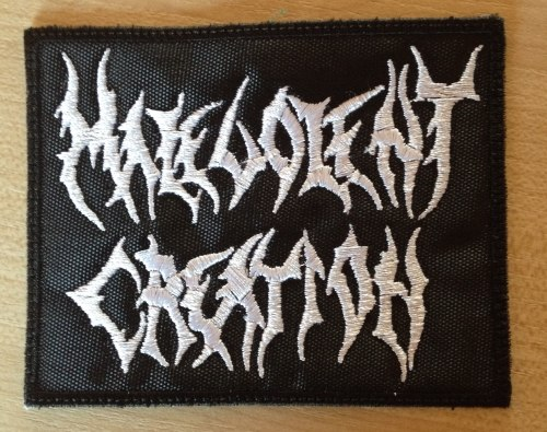MALEVOLENT CREATION - Logo Нашивка Death Metal