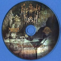 ROTTING FLESH - Infected Purity CD Blackened Death Metal