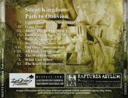 SILENT KINGDOM - Path to Oblivion CD Doom Metal