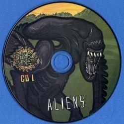 HULDUEFNI / I AM ESPER / PALEOZOIC / SATANATH - Aliens VS Dinosaurs 2CD Drone Dark Ambient