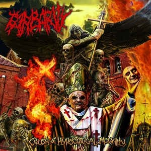 BARBARITY - Crush Of Hypocritical Morality CD Death Metal