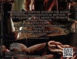 CEREBRAL EFFUSION - Smashed And Splattered Organs CD Brutal Death Metal