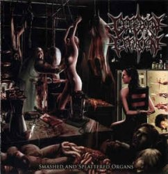 CEREBRAL EFFUSION - Smashed And Splattered Organs CD Brutal Death Metal