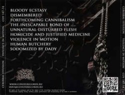 CEREBRAL EFFUSION - Violence In Motion CD Brutal Death Metal