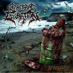 CEREBRAL INCUBATION - Asphyxiating On Excrement LP Brutal Death Metal